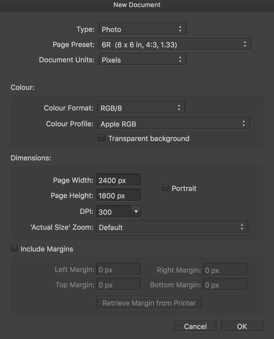 Vectorise and sharpen an image - Affinity on Desktop Questions (Mac