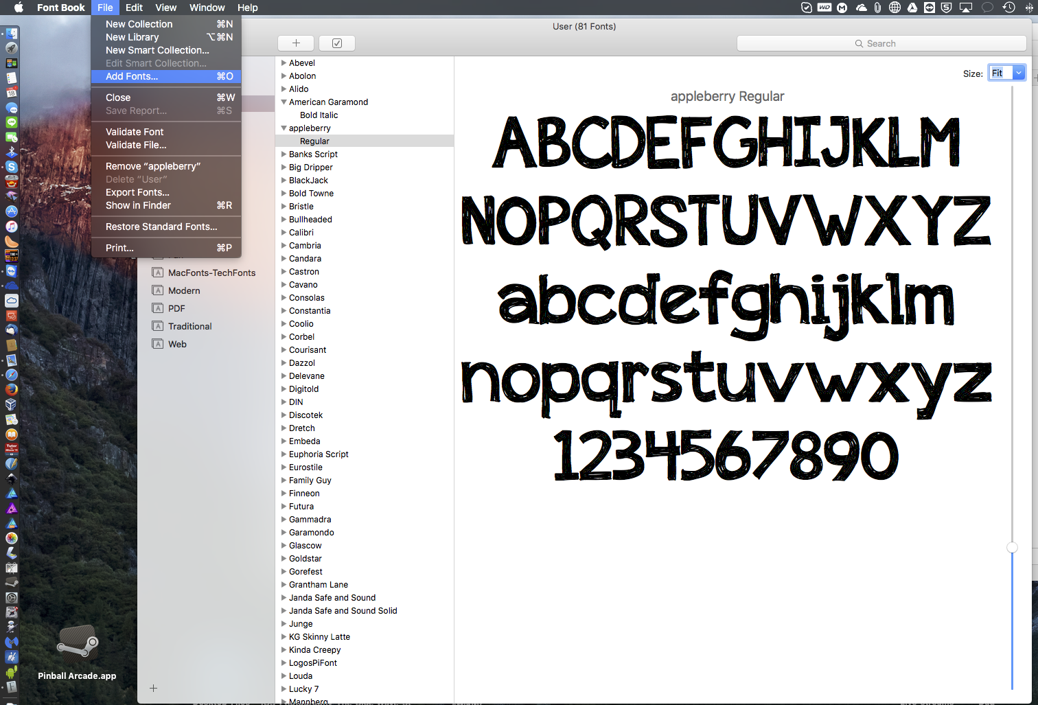 How to import additional fonts - Affinity on Desktop