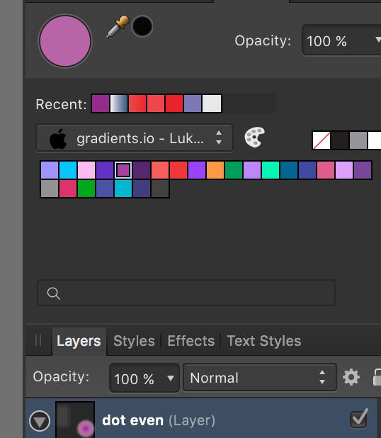 gradients io palette - Resources - Affinity | Forum
