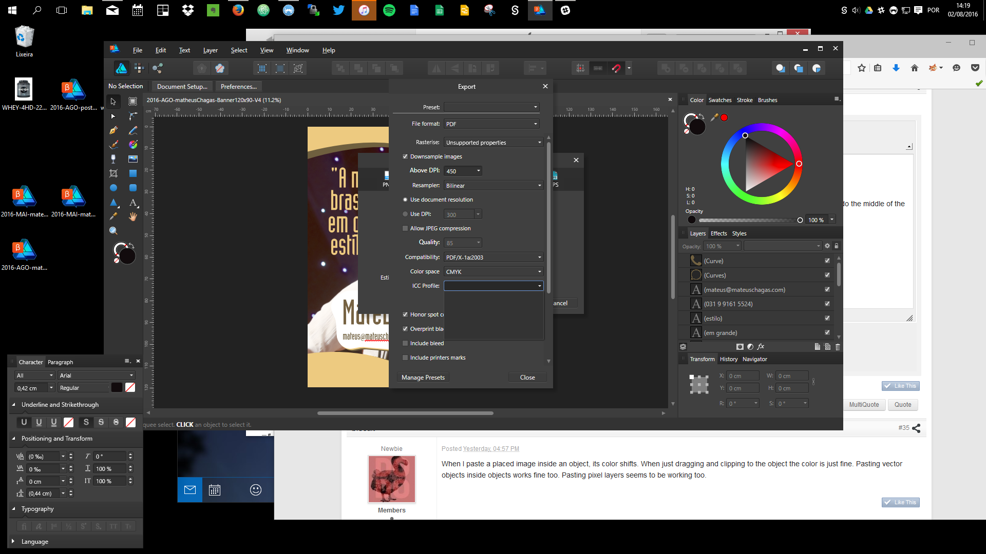 indesign export pdf takes too long