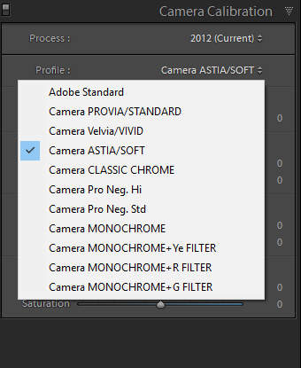 AP] will it possible to change the Camera Profiles in future