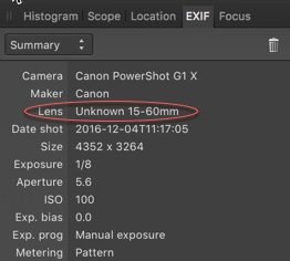 Fixed] Automatic Lens Correction in 1 5 - (Pre 1 7) MacOS