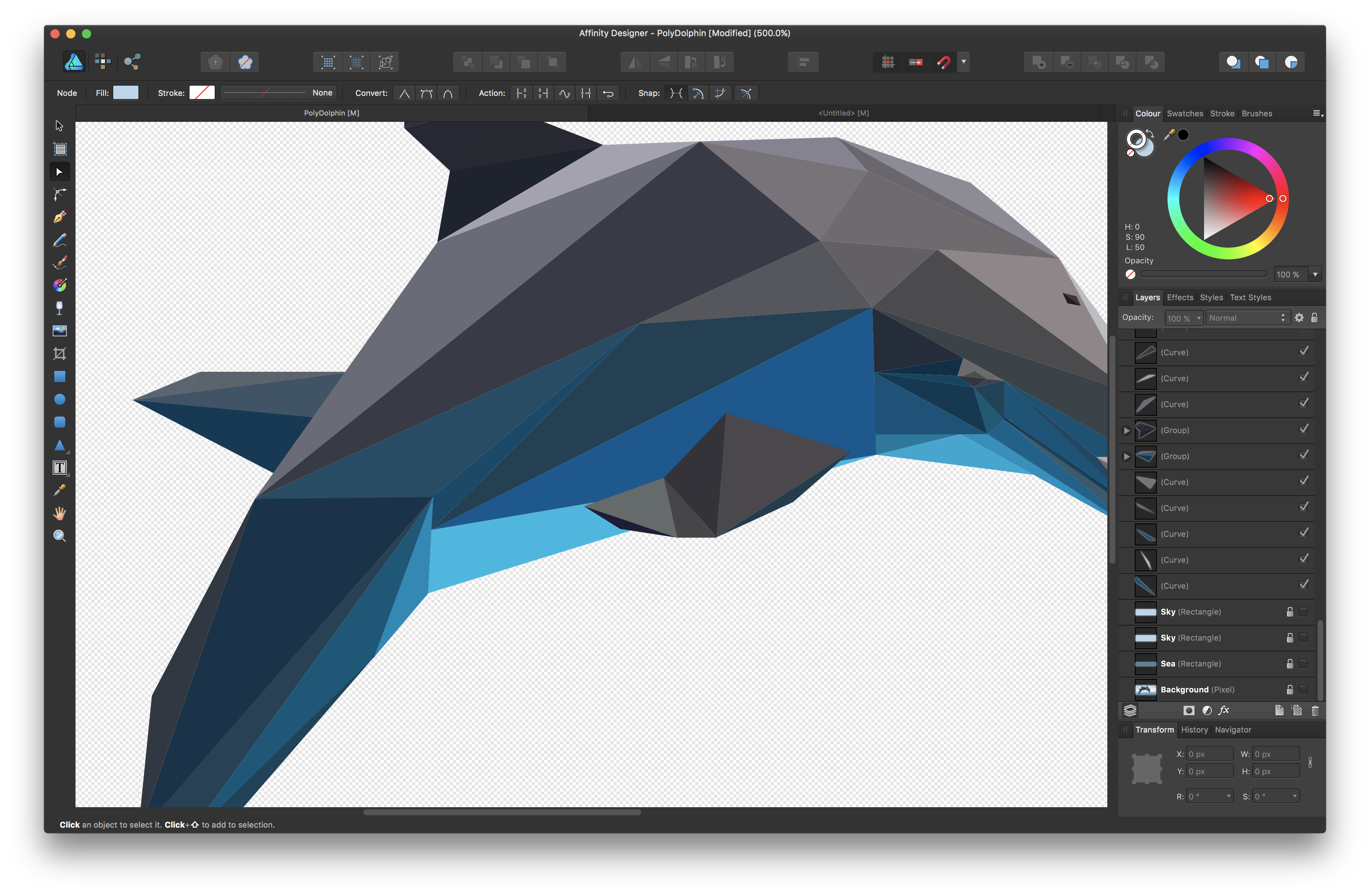 Low Poly, snapping and White gaps - Affinity on Desktop Questions