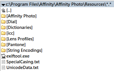 Exif issue in AP 1 6 - (Pre 1 7) Bugs on Windows - Affinity | Forum