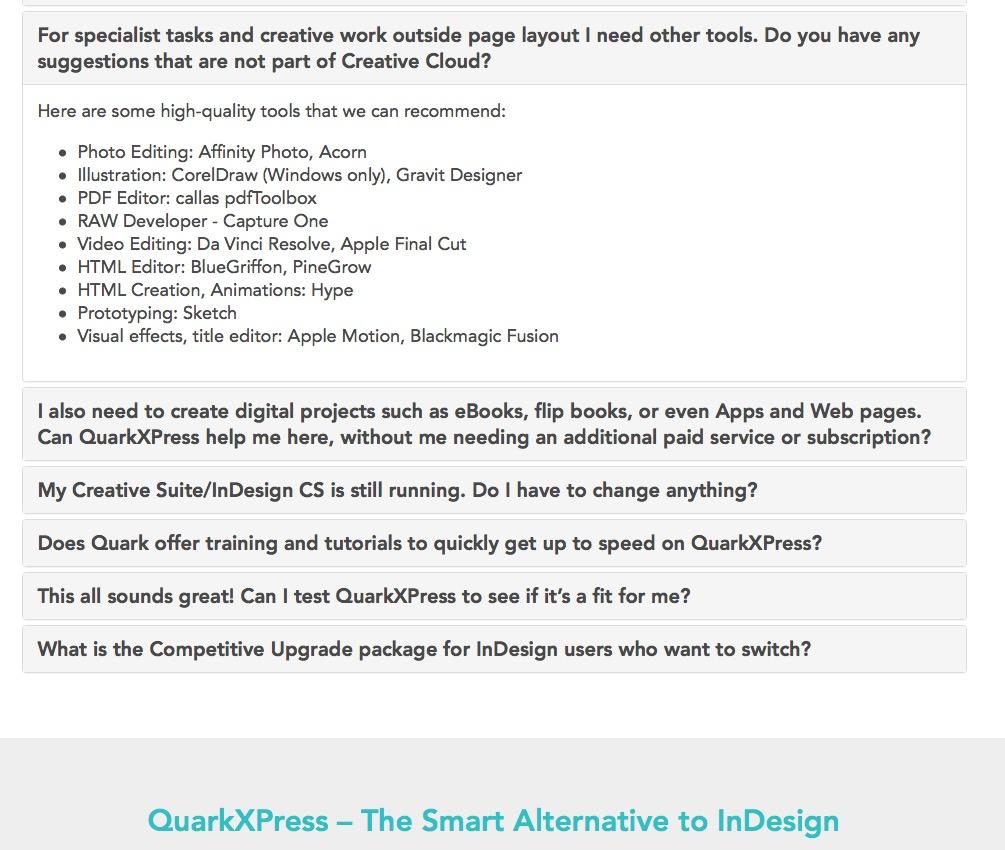 Quark recommends Affinity Photo! - Affinity on Desktop