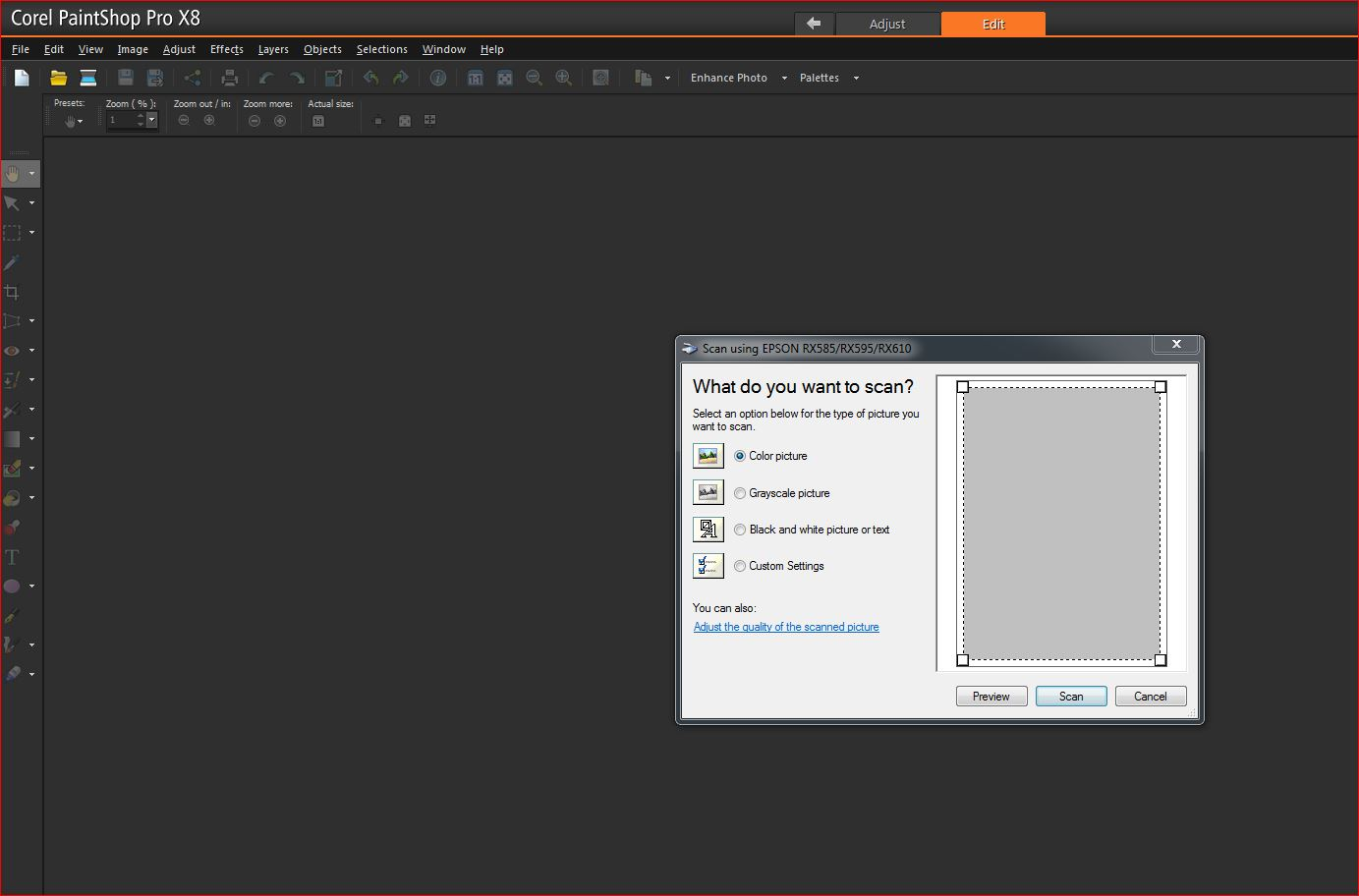 Does the TWAIN plug in work with Affinity Photo? - Affinity