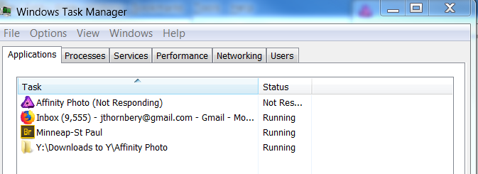 Not responding 32 to 16 bit, TaskManager1.PNG