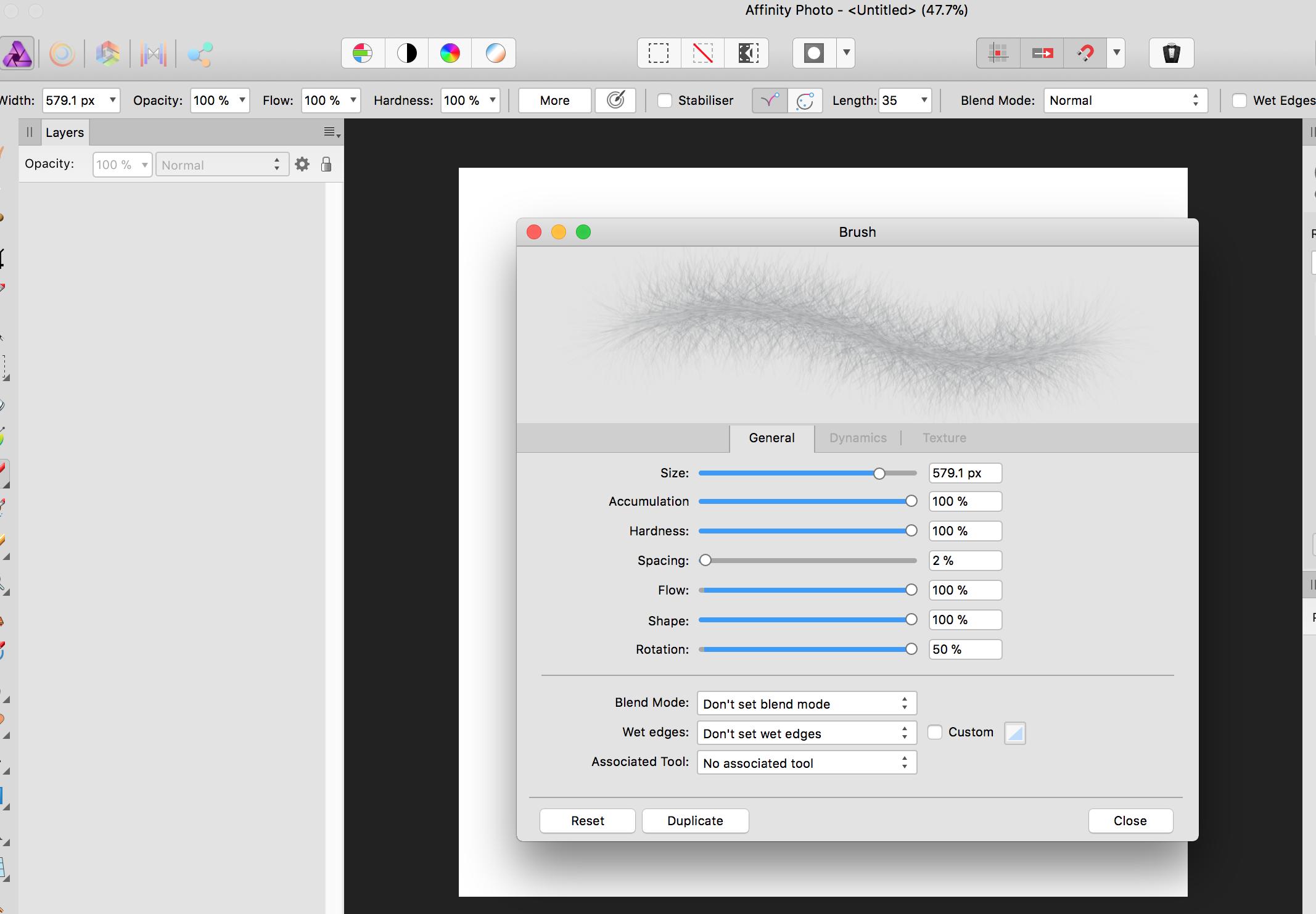 Brush won't reset to default - (Pre 1 7) Bugs on Mac