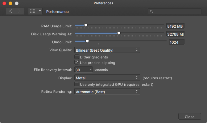 Metal - Affinity on Desktop Questions (Mac and Windows