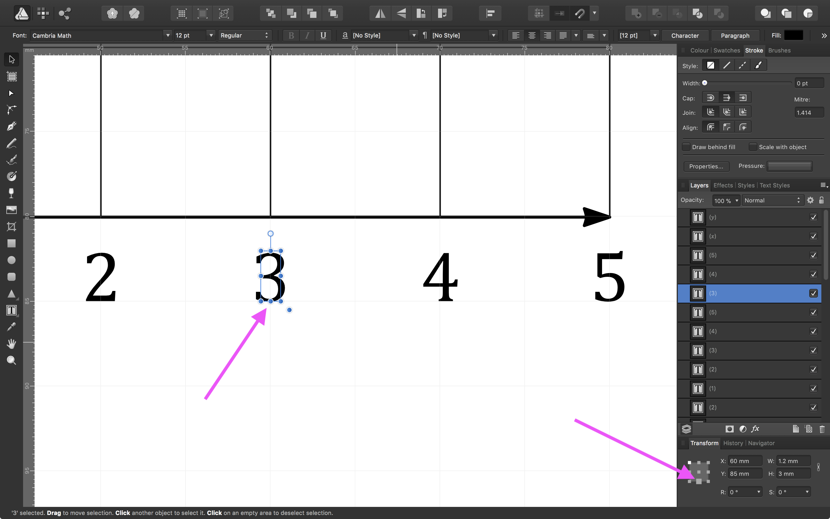 Aligning Text to the Grid in Affinity Designer - Affinity on