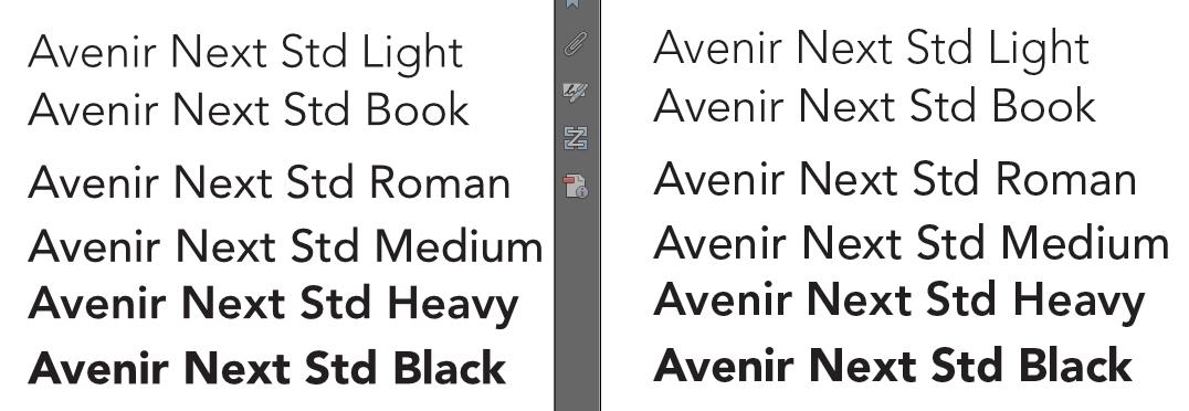 Font bolder in pdf export    - Affinity on Desktop Questions (Mac