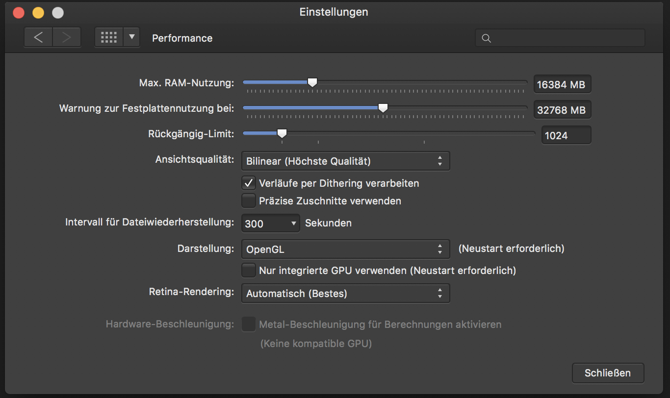 No Metal acceleration on iMac 27