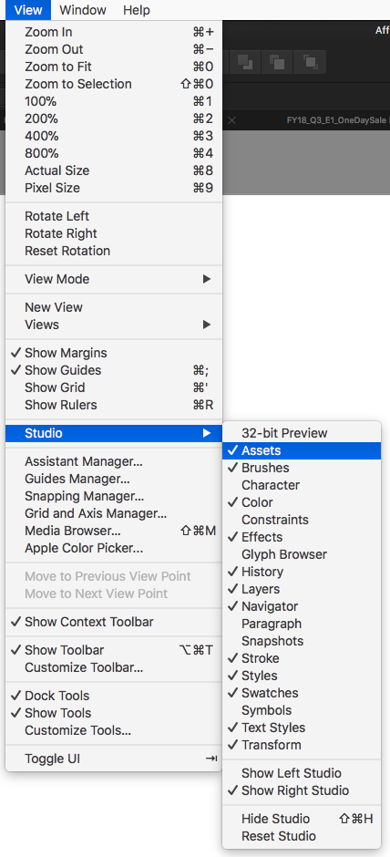 Designer Keyboard Shortcuts Affinity On Desktop Questions Mac And