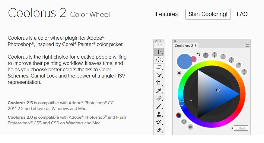 Coolorus Color Wheel For Photoshop Affinity On Desktop Questions