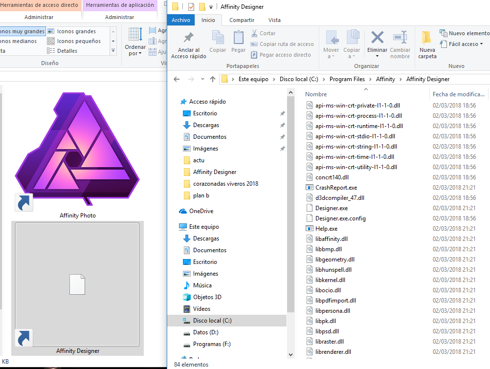 Icon not visible in link or exe designer affinity on desktop it is a silly question but i would like to solve it why can not the icon be seen in the link or in the exe any suggestions ccuart Image collections
