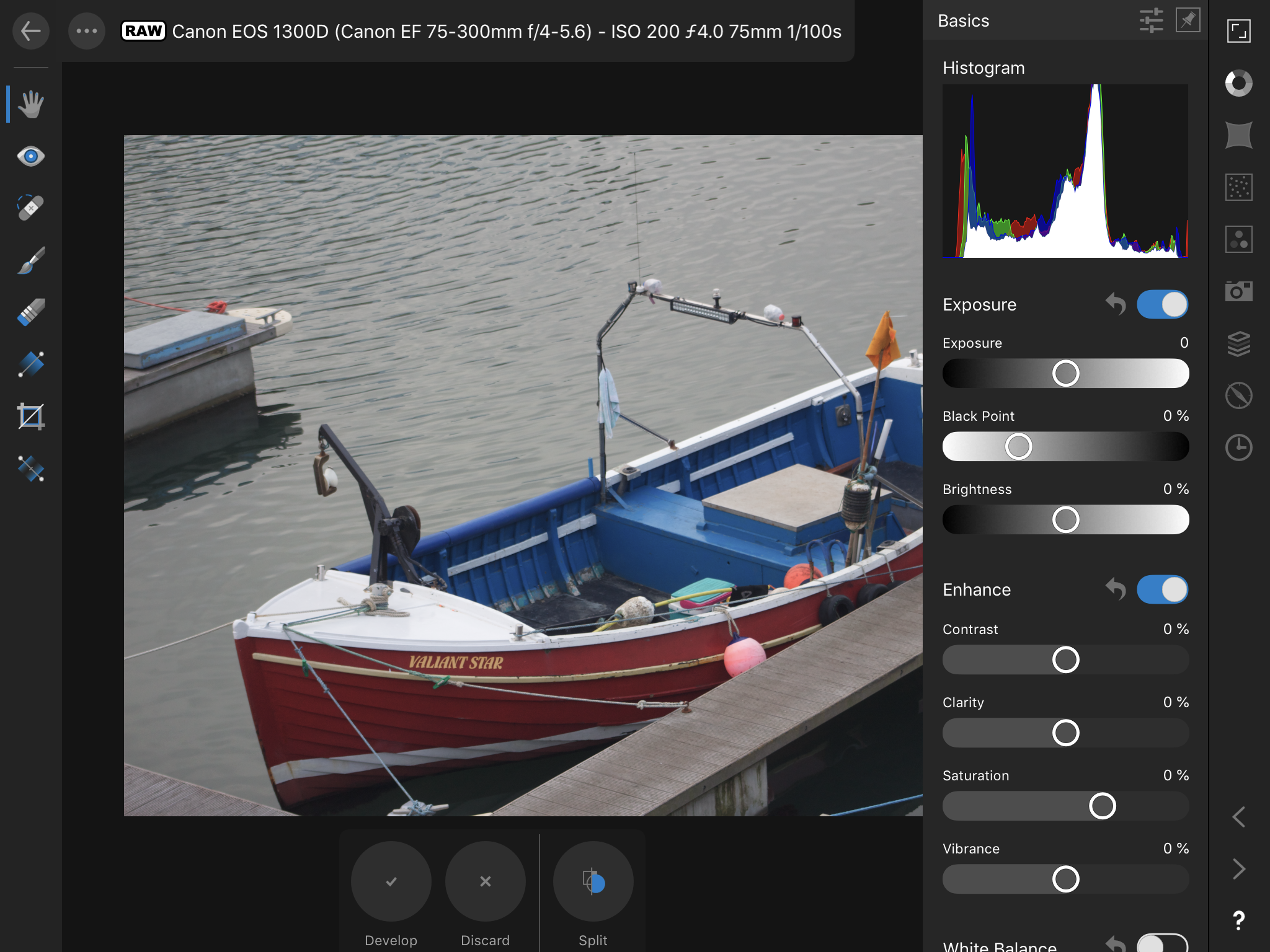 How to adjust the Automatic Lens correction? - Affinity on