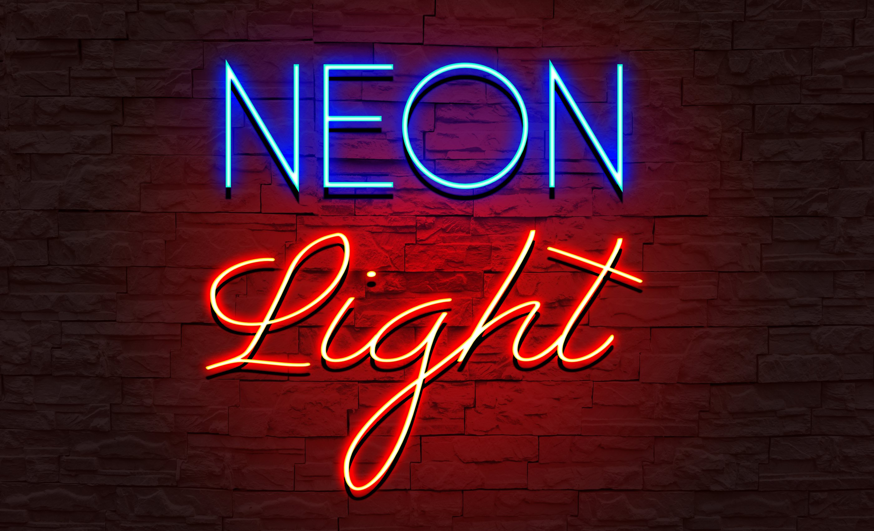 How to create Neon Light text effect | Affinity Designer