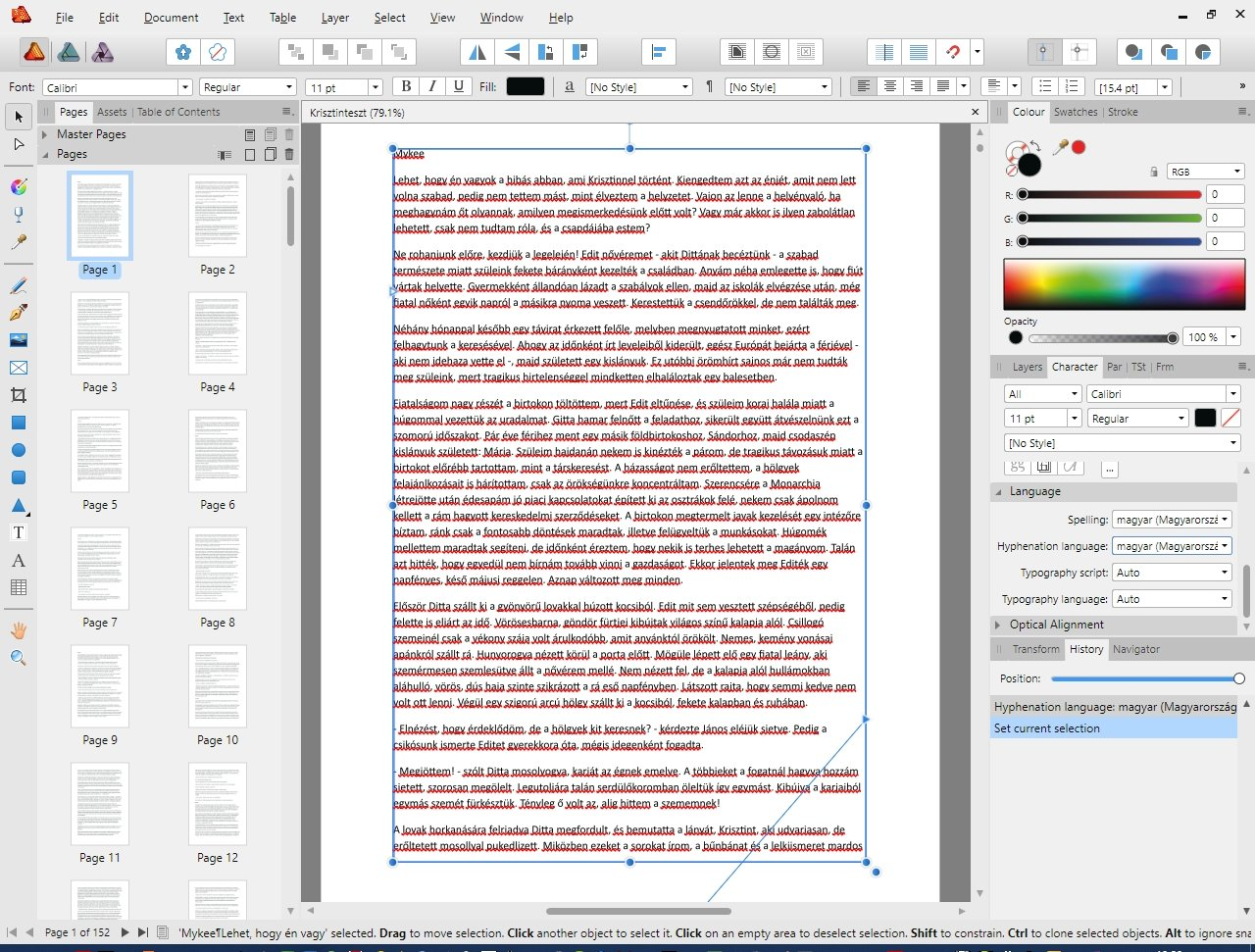 Dictionaries and spell check - Affinity on Desktop Questions (Mac