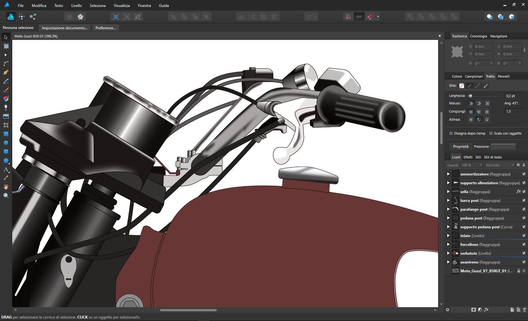 Moto Guzzi Design - Share your work - Affinity | Forum