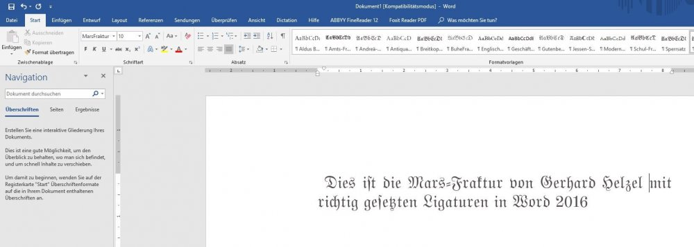 Screenshot Mars-Fraktur by Gerhard Helzel in Word 2016.JPG