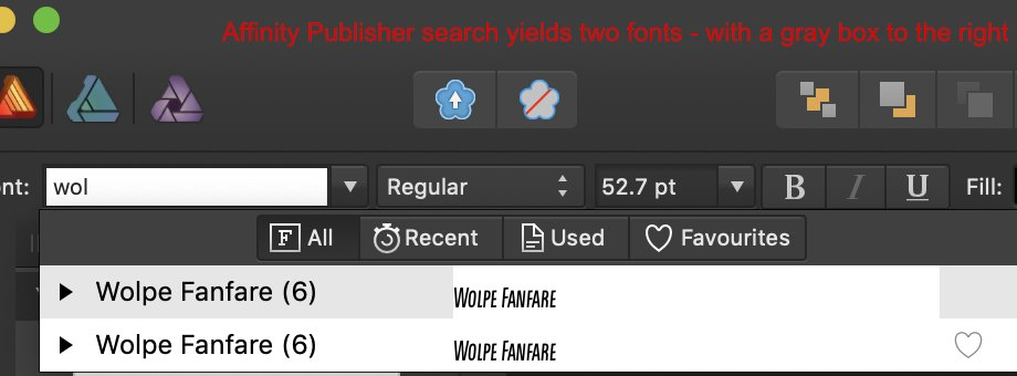 AP search lists two font families.jpg
