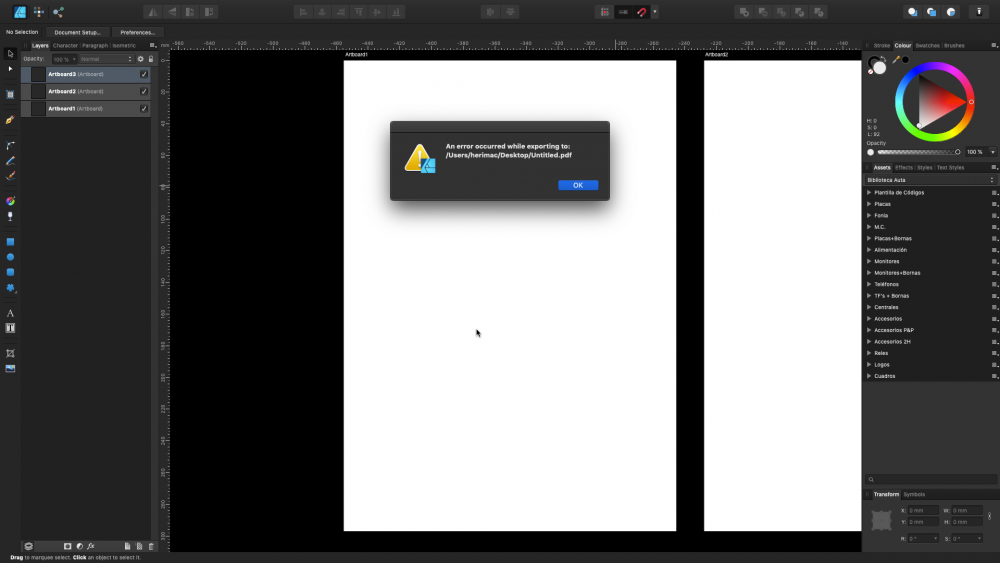 Exporting to PDF selected Artboard.png