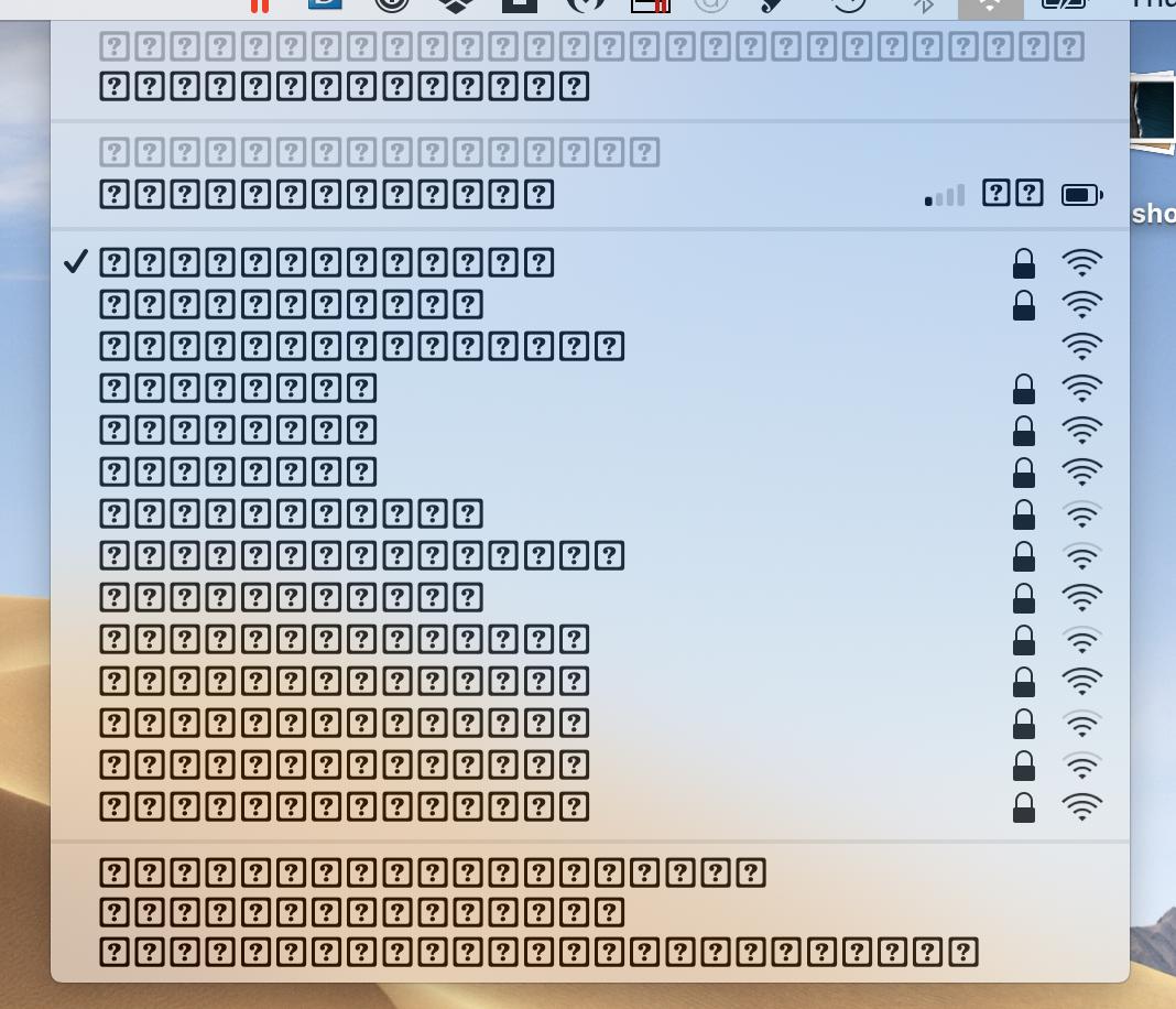 System Fonts 2019