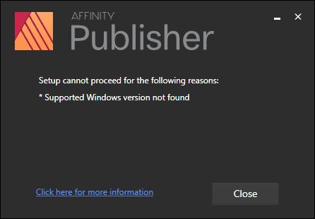 Affinity designer setup error.png