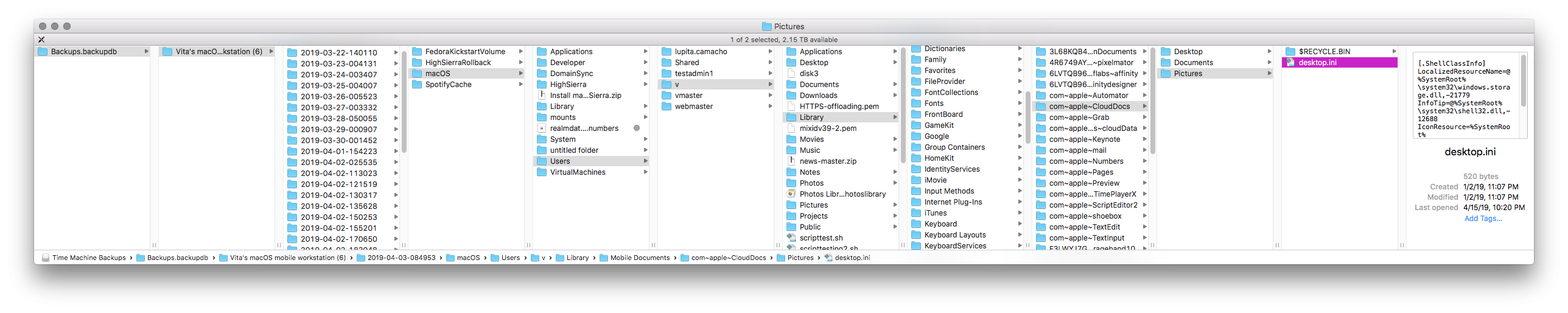 User preferences location - Affinity on Desktop Questions (Mac and