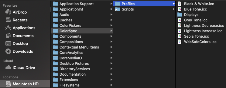 Importing icc profiles - Affinity on Desktop Questions (Mac