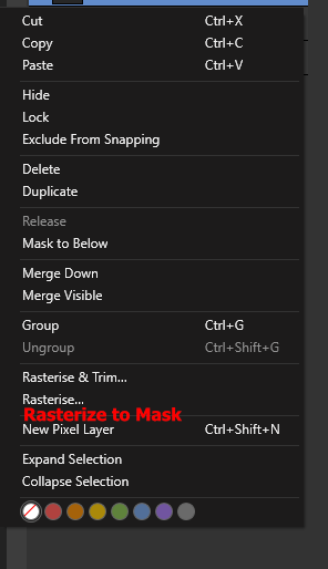 screenshot layer context menu rasterize to mask.png