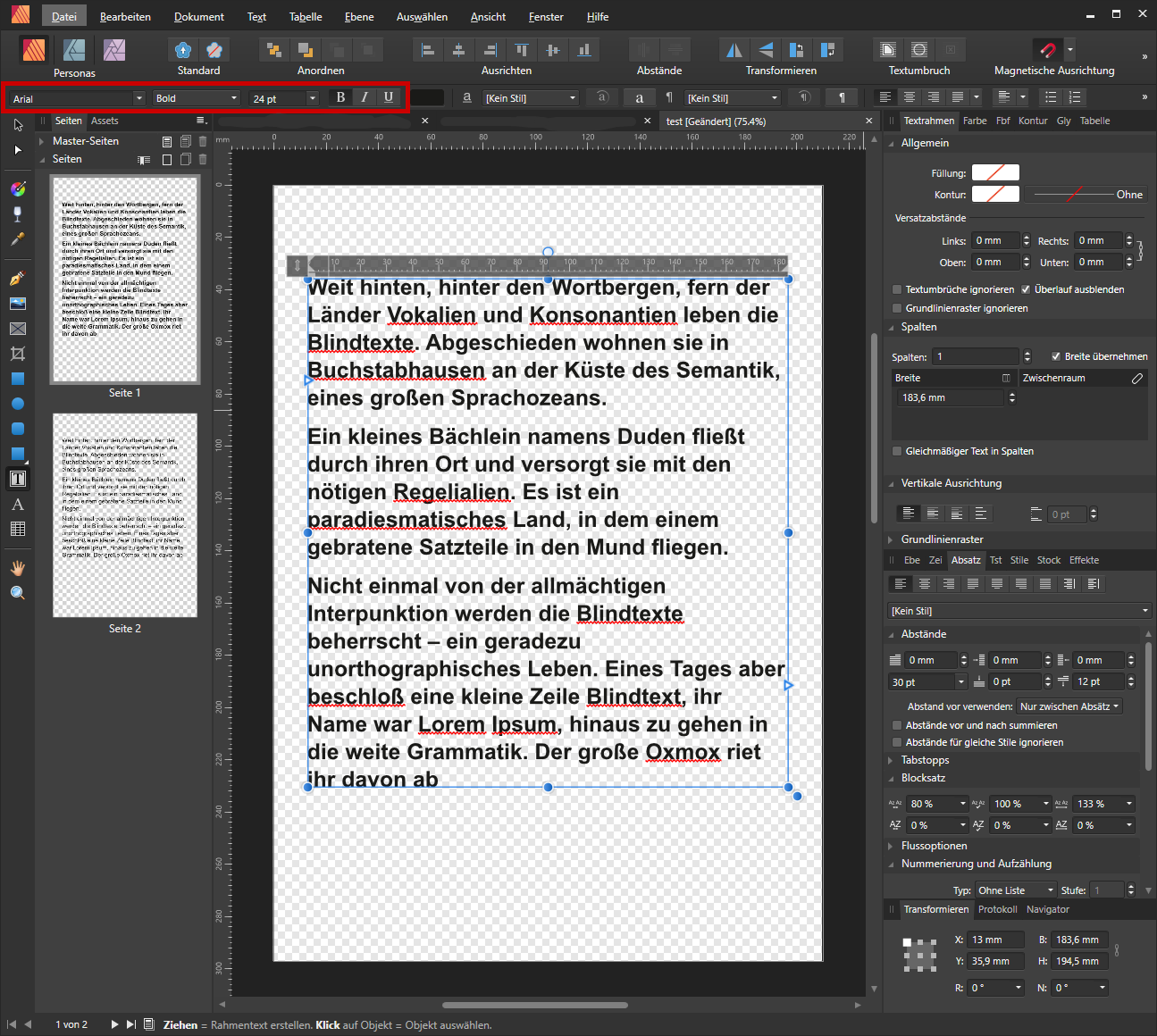 afpub: PDF export issue with font encoding - Affinity on