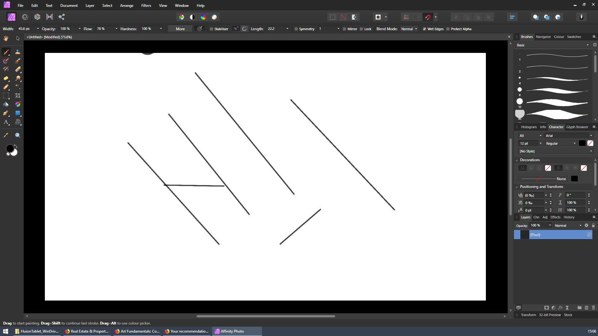 Affinity Photo Not working with Huion Kamvas 16 Pro