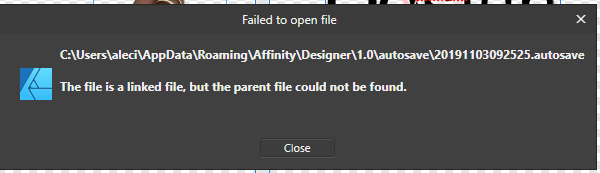 affinity error msg file lost.png