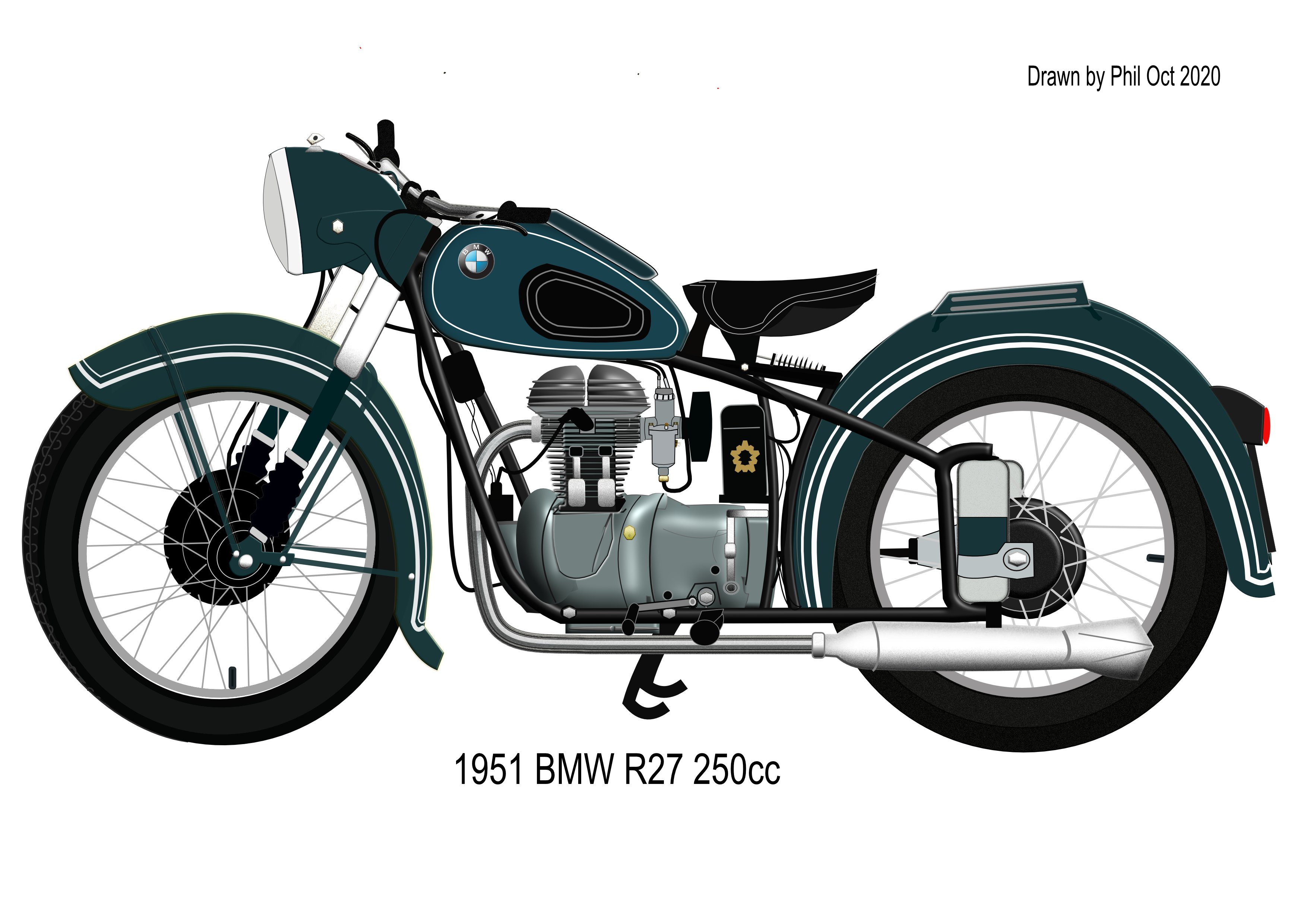 Bmw R27 Done With Designer Share Your Work Affinity Forum